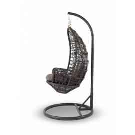 Подвесное плетёное кресло 4SIS Венеция темно-коричневое