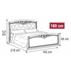 Кровать Nostalgia Camelgroup 180х200, 085LET.43NO