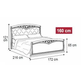 Кровать Nostalgia Camelgroup 160х200, 085LET.41NO