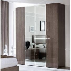 Шкаф 2 дверный Platinum Camelgroup с зеркалами