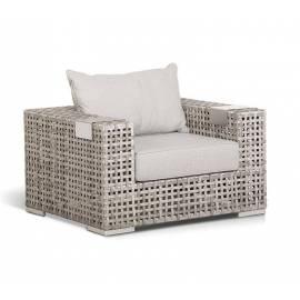 Кресло плетёное 4SIS Тито серое