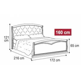 Кровать Nostalgia Caelgroup 160х200, 085LET.37NO