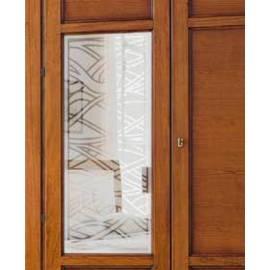 Стекло на дверь Prama Bohemia с рисунком