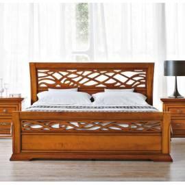 Кровать 160 см Prama Bohemia с резным изголовьем