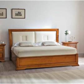 Кровать 180 см Prama Bohemia изголовье экокожа без изножья