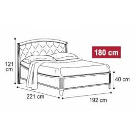 Кровать Nostalgia Camelgroup 180х200