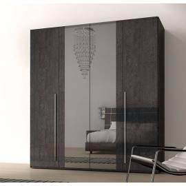 Шкаф 4-дверный Status Sarah с двумя зеркалами