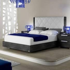 Кровать 160 см Status Sarah с мягким изголовьем Rhombus