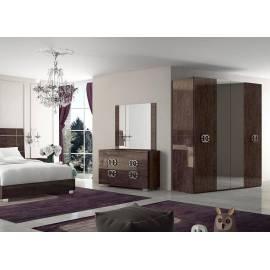 Шкаф 4-дверный Status Prestige с двумя зеркалами