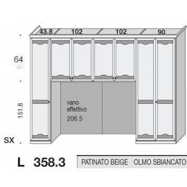 Композиция модульная мост San Michele Beverly 39A1775