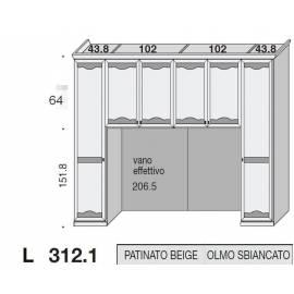 Композиция модульная мост San Michele Beverly 39A1766