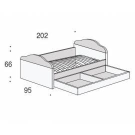 Диван-кровать 80х190 San Michele Beverly