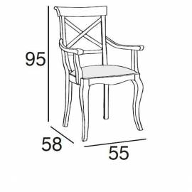 Кресло Panamar 417.057.P