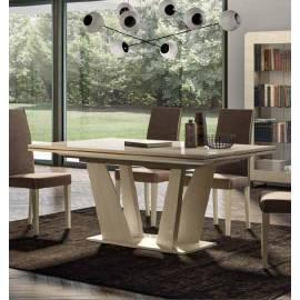 Стол обеденный 180/225 см Status Perla раздвижной прямоугольный PLDWLTA02