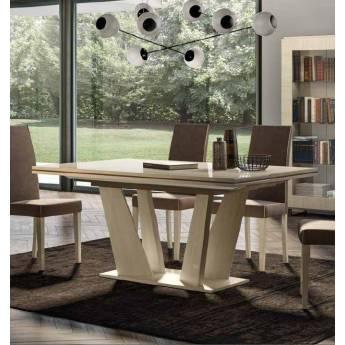 Стол обеденный 180/225 см Status Perla раздвижной прямоугольный