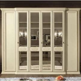 Шкаф 6-дверный Siena Avorio Camelgroup, с зеркалами
